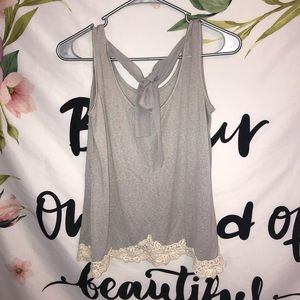 Charming Charlie's size medium lace tank top